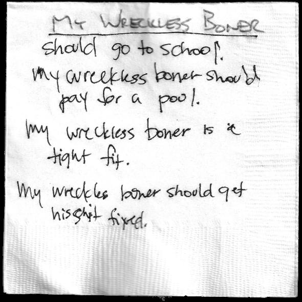 MyWrecklessBoner