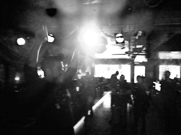 Scenes from a Barstool Poetry night. 2014 SXSW. C-Boys. Austin, TX